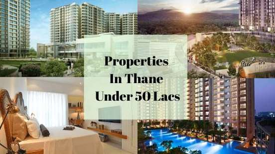 properties in thane under 50 lacs