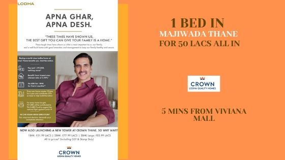 lodha crown exclusive offer