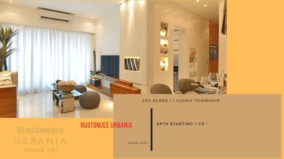 Rustomjee urbania sample flat